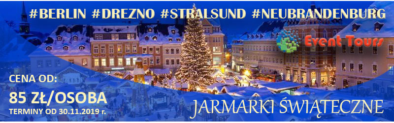 Wyjazdy na Jarmarki Świąteczne do Niemiec