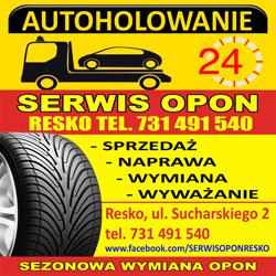 Autolaweta i Serwis Opon Resko - poznaj naszą ofertę!