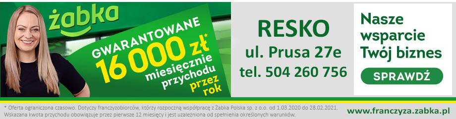 Żabka Resko - Nasze wsparcie, Twój biznes!